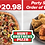 Thumbnail: Pizza & Wings Window Sign