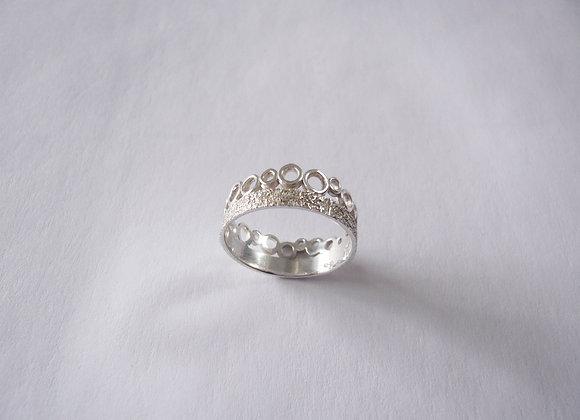 Bubble soap ring