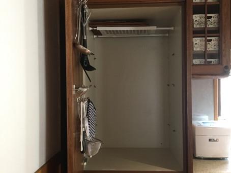キッチン戸棚をリメイクしました。