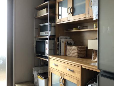 【整理収納サービス】無印ユニットシェルフでキッチン収納♡