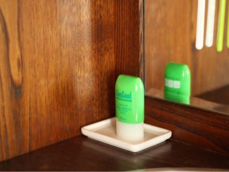 歯磨き粉の収納スペース、決まりました!