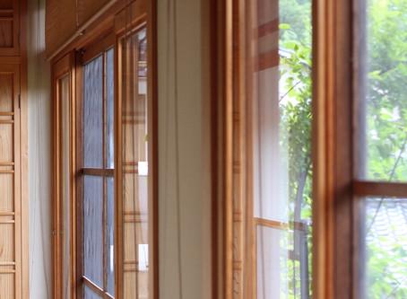 掃除記録 〜縁側の窓拭き〜