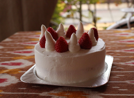私にも作れた!デコレーションケーキ♡