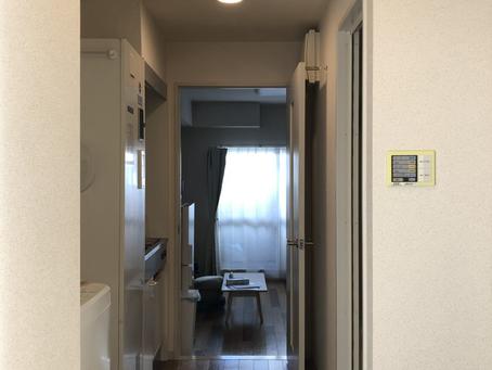 長男の一人暮らし部屋が、ほぼ完成しました。