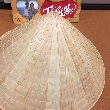 The Conical Leaf Hat