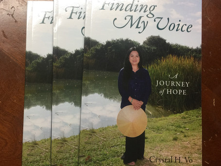 Finding My Voice Has Arrived!