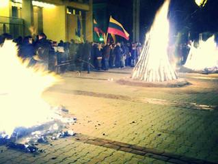 Pro-Ukraine Rally: Vilnius, Lithuania