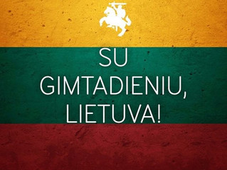 February 16th, 1918: Lithuanian Independence Day!