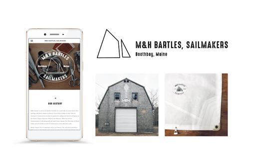 Kayla Hedman: M&H Bartles, Sailmakers Logo Design