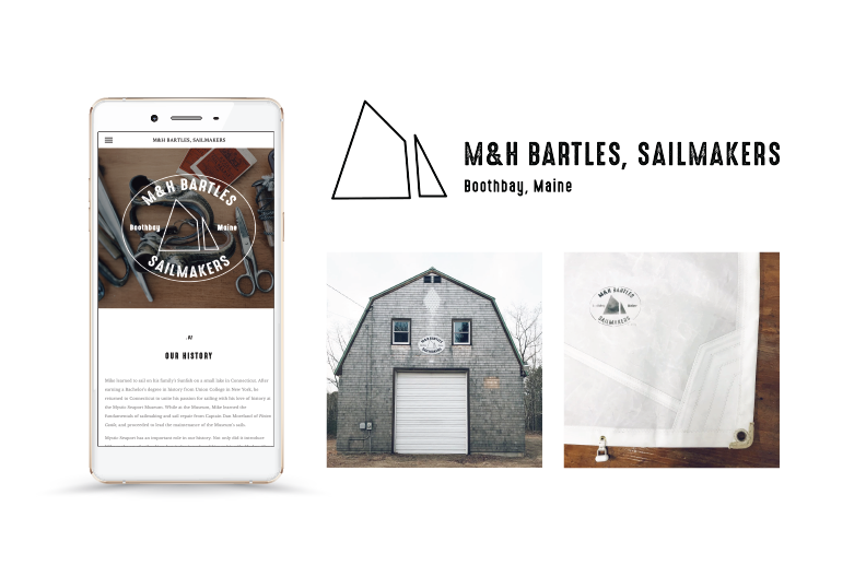 Kayla Hedman: M&H Bartles, Sailmakers Logo Design