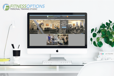 Kayla Hedman: Fitness Options Branding and Web Design