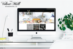 Kayla Hedman: American Velvet Mill web design