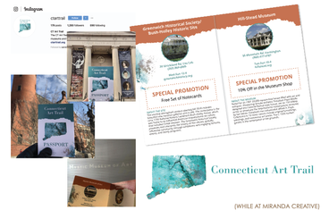 Kayla Hedman: CT Art Trail collateral