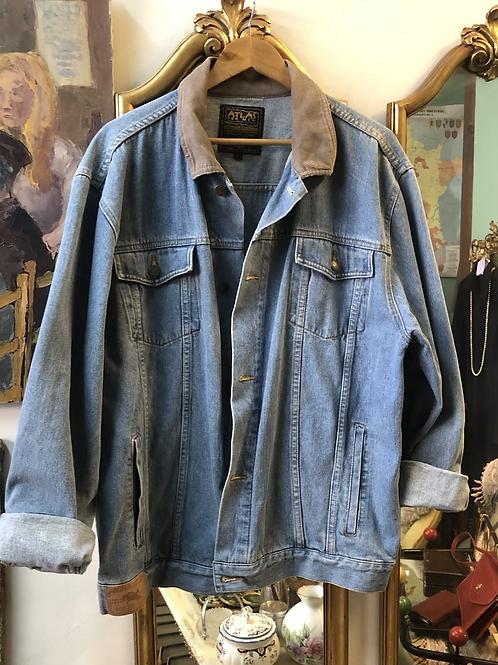 Veste en jean's oversized