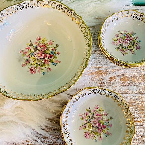 Ensemble porcelaine