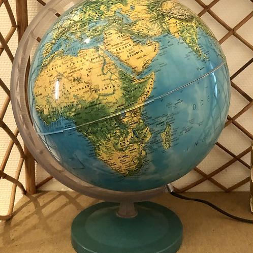 Globe lumineux début années 80