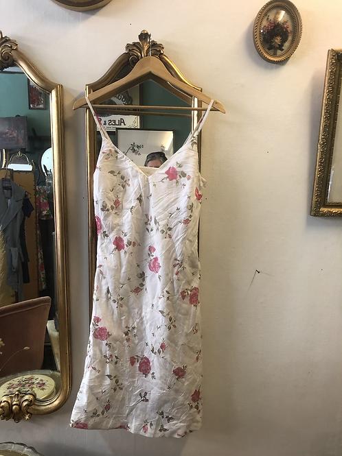 Robe vintage à bretelles