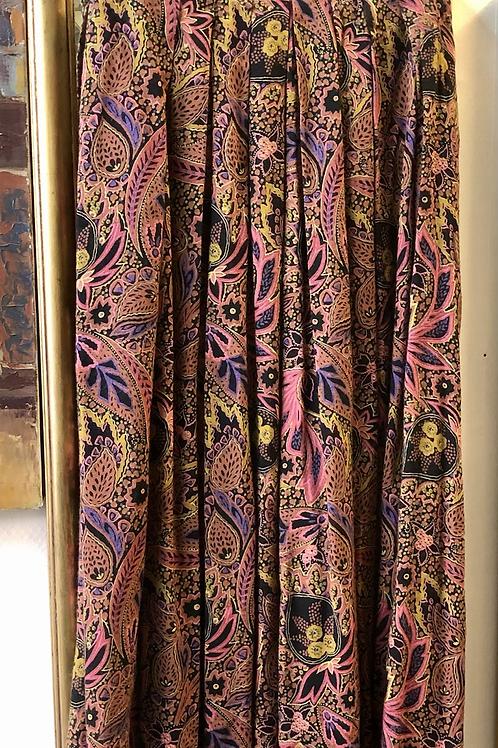 Jupe plissée vintage