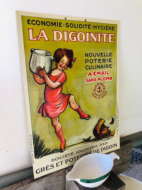 Affiche publicitaire Digoin