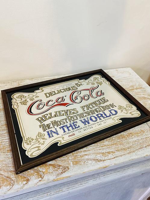 Miroir Coca-Cola rétro