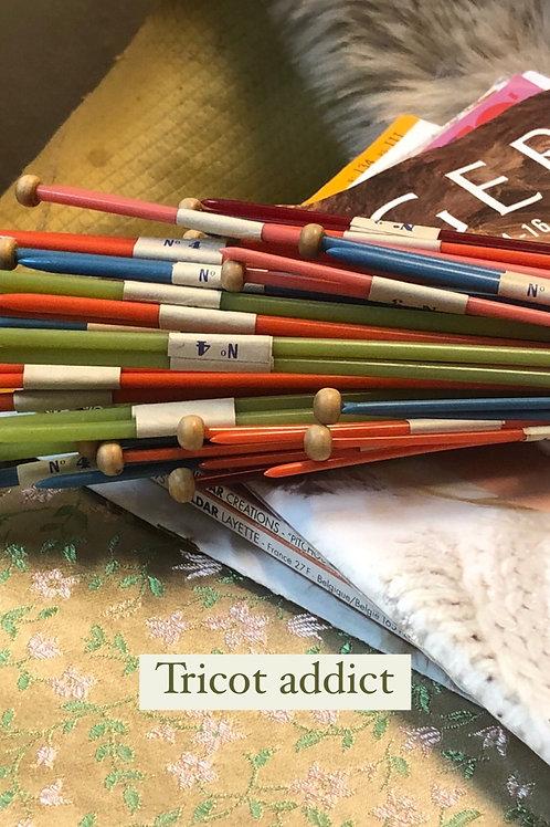 Aiguilles à tricoter vintage