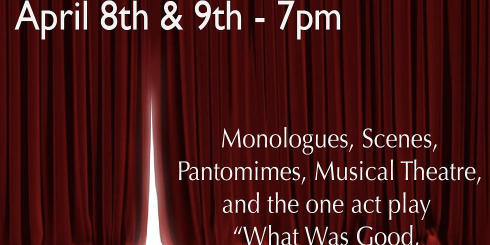 Spring Theatre Showcase - Thursday (4/8)