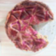 PAC-man tart of the week is forced rhuba