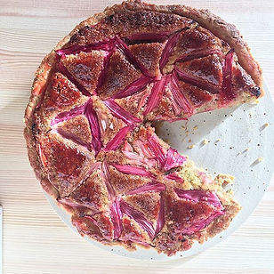 PAC-man tart of the week is forced rhuba