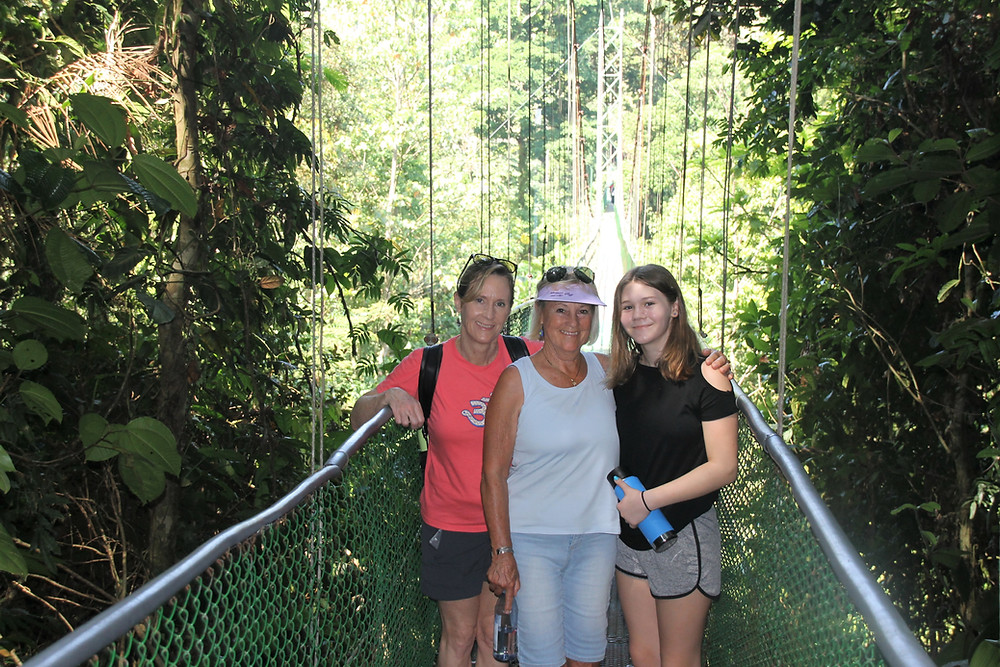 Canopy tours on suspension or hanging bridges (puentes colgantes) are one of the very best ways to explore nature in Costa Rica.