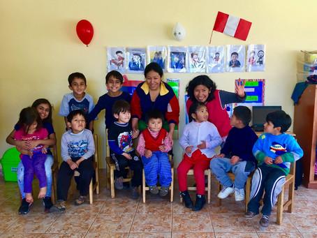 A Service Trip with my Kids in Support of Manos Unidas Peru