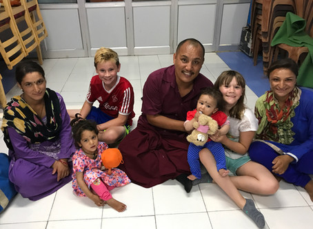 Gifts from a Visit with Lama Tenzin and the Children of the CED House