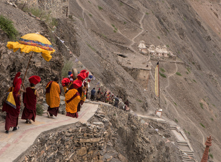 Sacred Moments at Wanla Monastery: A Mandala Dissolution on the Art of the Silk Road Trip to Ladakh