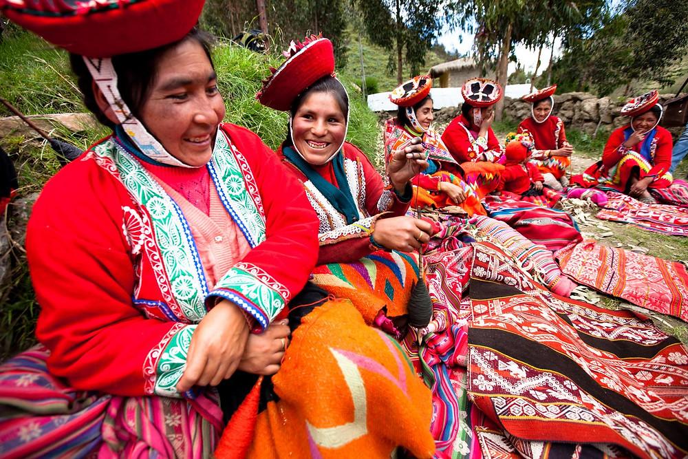 Peruvian Weavers, photo courtesy of Awamaki