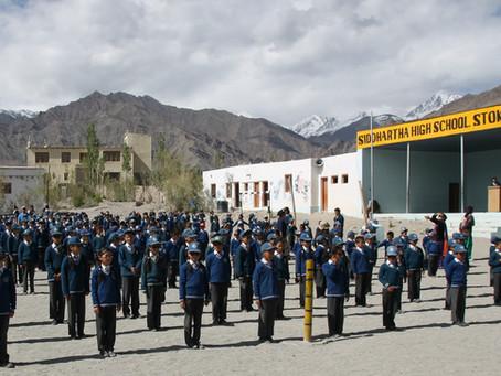 Exploring Ladakh with Siddhartha School Friends