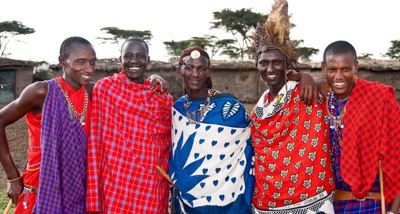 Masai-men-kenya