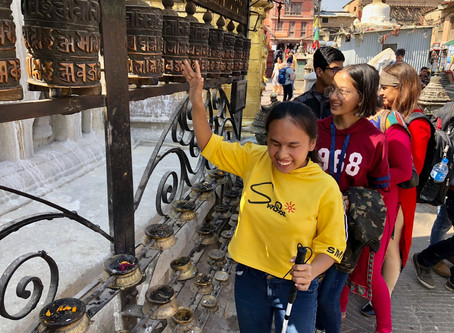 Nepal 2018 Trip: A Cultural Adventure to Support Children with Disabilities