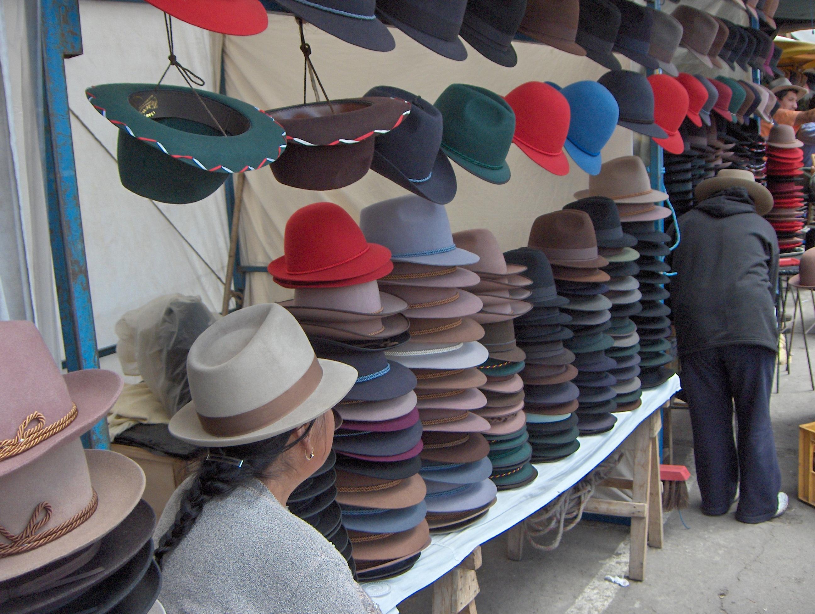Sombreros Otavalo