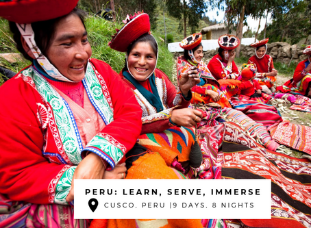 3 Trips to Peru's Sacred Valley to Learn, Serve & Immerse