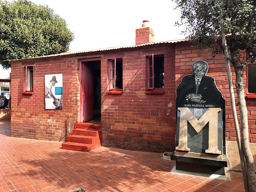Mandela's Home in SOWETO