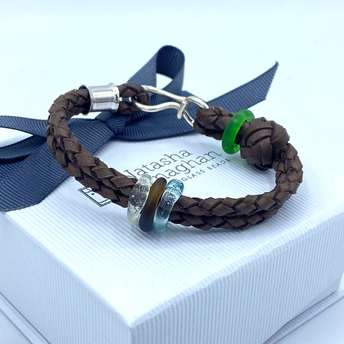 Dark Brown Wristband (SKU: BW04)