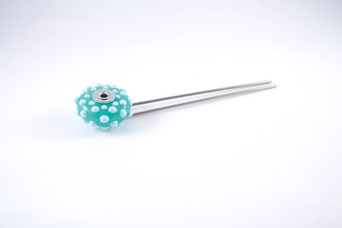 Kryptonite and Sky Blue Collection Luscious Hair Pin