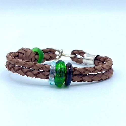 Light Brown Brew Wristband (SKU: BW03)