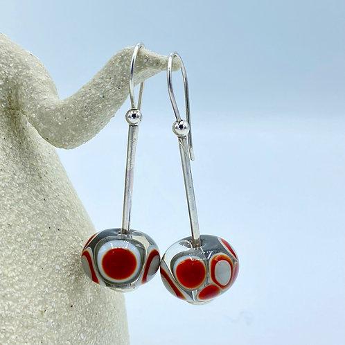 Embers Collection Luscious & Long Earrings (SKU: BEE01)