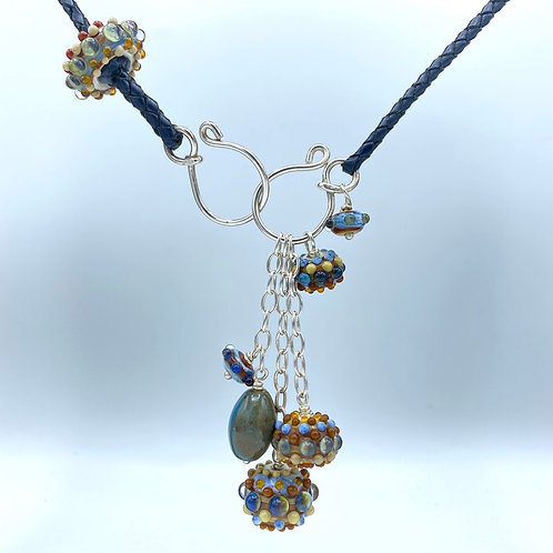 Byzantium Collection Charmed Necklace (SKU:BCN001)