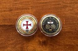 Knights Templar Commemorative Coin