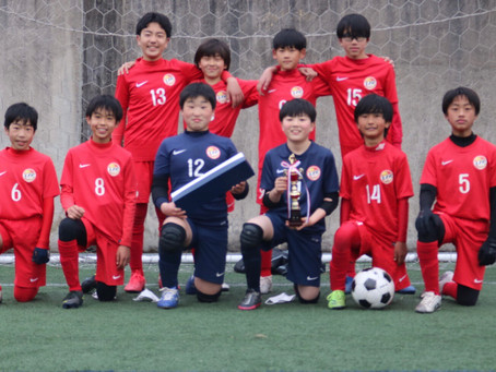 U-12エスコカップ 優勝