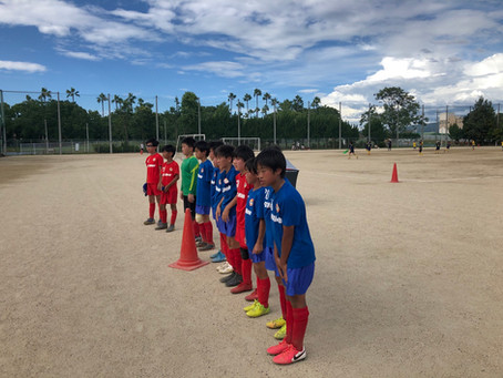 U-12 トレーニングマッチ