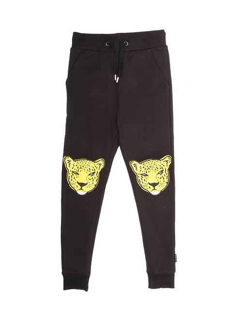 BAND OF BOYS LEOPARD FACE SKINNY TRACKIES