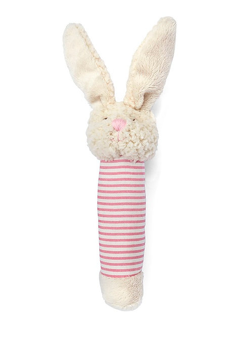 BELLA THE BUNNY BABY RATTLE - PINK