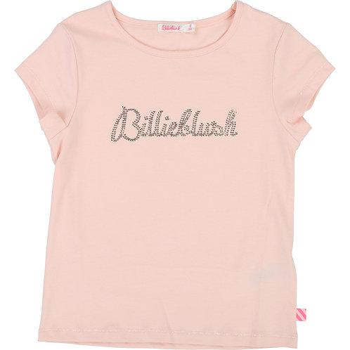 BILLIEBLUSH GIRLS PINK LOGO TEE